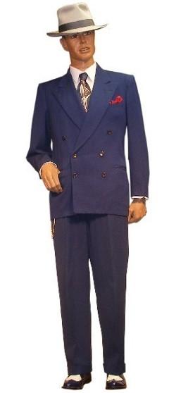 1930s 1940s men costume