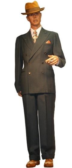 1940s men costume